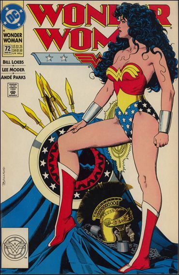 Wonder Woman (1987) 72-A by DC