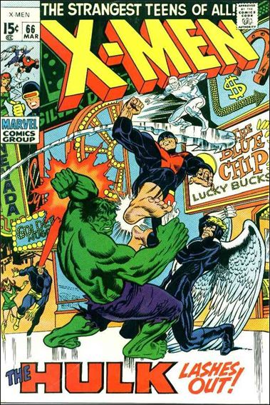X-Men (1963) 66-A by Marvel