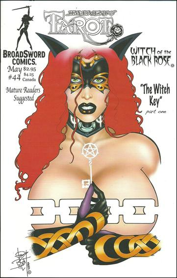 Tarot: Witch of the Black Rose 44-B by BroadSword Comics