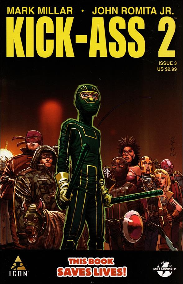 Kick-Ass 2 3-A by Icon