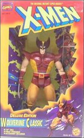 "X-Men Deluxe Edition 10"" Action Figures Wolverine Classic by Toy Biz"