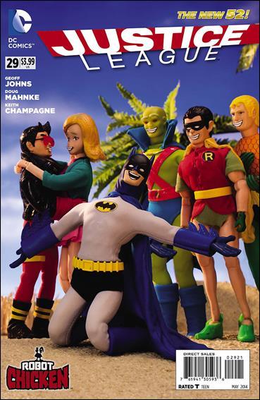 Justice League (2011) 29-D by DC