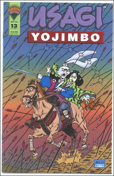 Usagi Yojimbo (1993) 13-A by Mirage