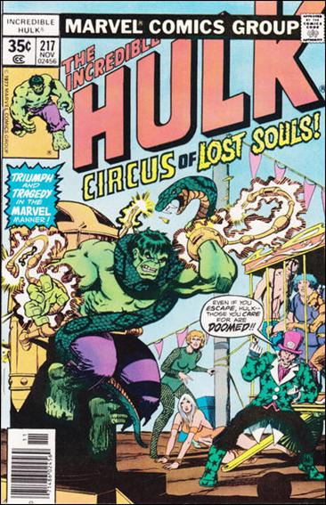 Incredible Hulk (1968) 217-A by Marvel