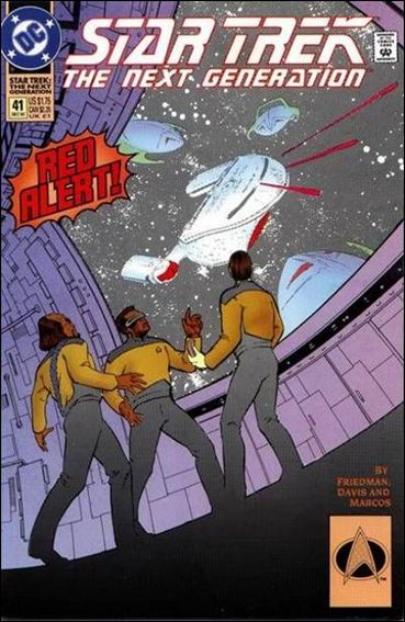 Star Trek: The Next Generation (1989) 41-A by DC