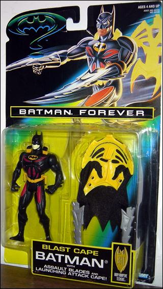 Batman Forever Blast Cape Batman by Kenner