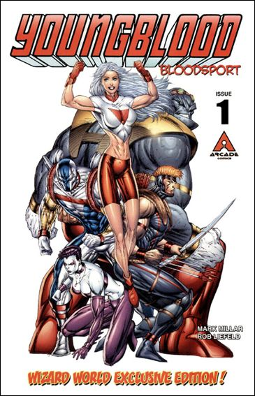 Youngblood Bloodsport 1-C by Arcade Comics