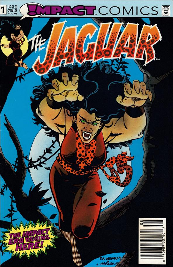 Jaguar 1-A by Impact Comics