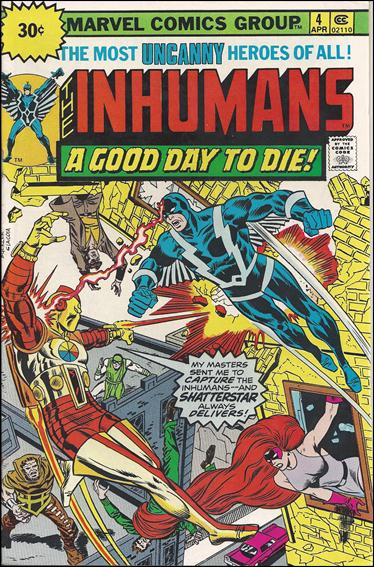 Inhumans (1975) 4-B by Marvel