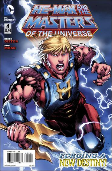 He-Man and the Masters of the Universe (2013) 4-A by DC