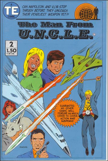 Man from U.N.C.L.E. (1987) 2-A by Entertainment Publishing