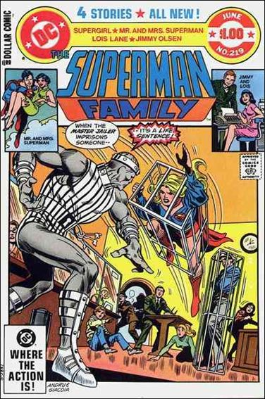 Superman Family 219-A by DC