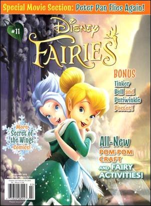 Disney Fairies Magazine 11-A by Disney