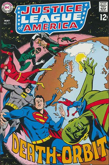 Justice League of America (1960) 71-A by DC