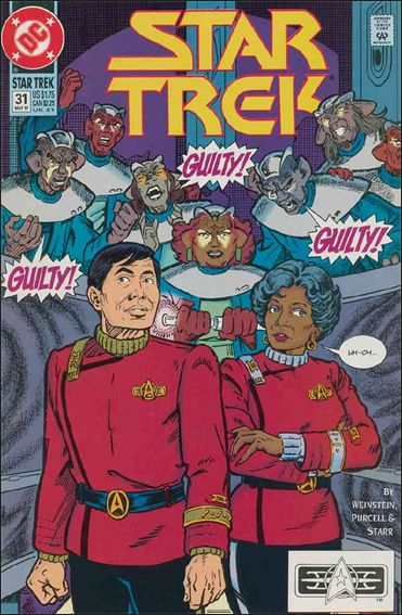 Star Trek (1989) 31-A by DC
