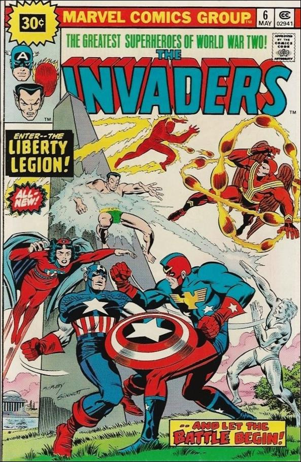 Invaders (1975) 6-B by Marvel