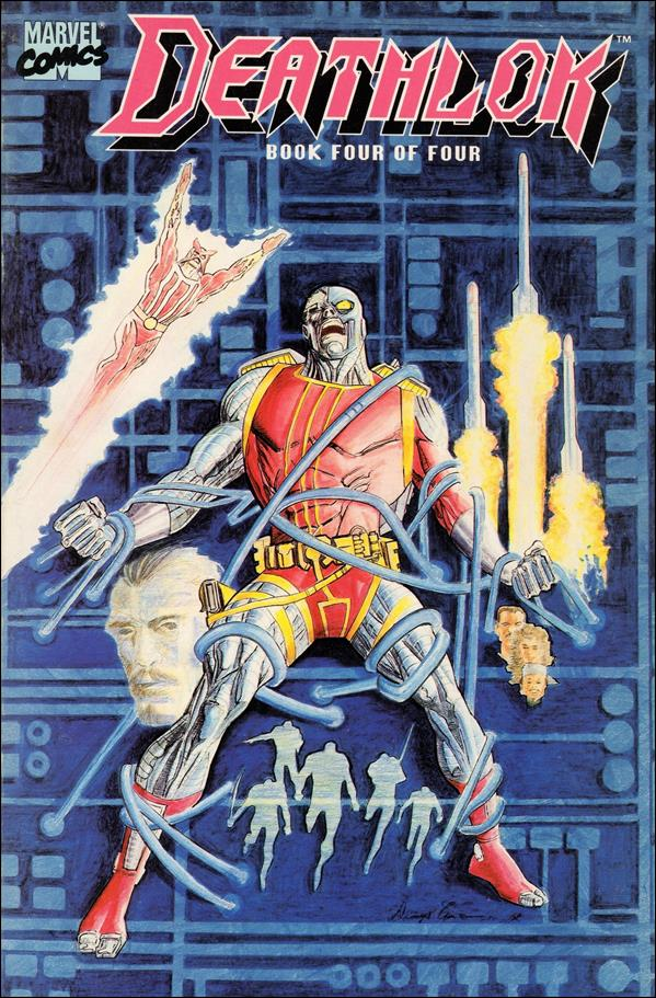 Deathlok (1990) 4-A by Marvel