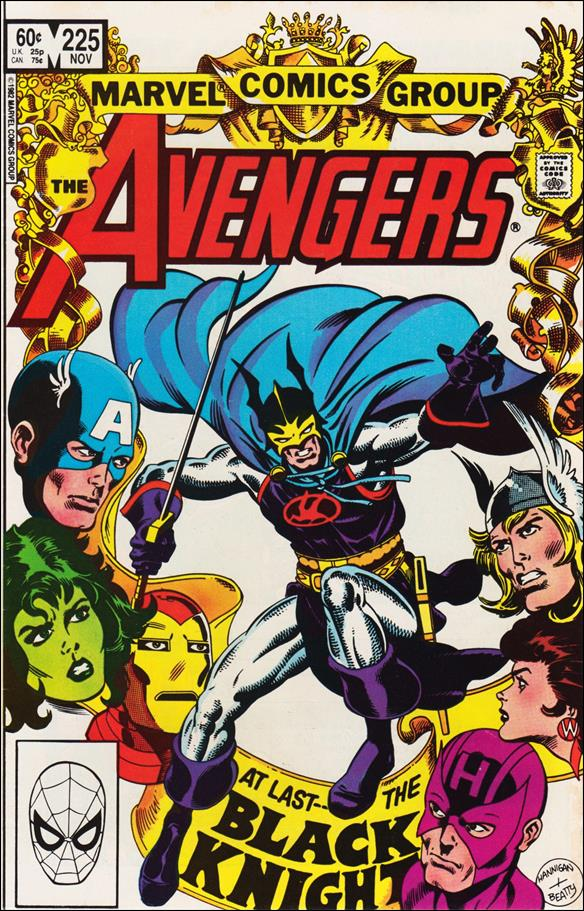 Avengers (1963) 225-A by Marvel