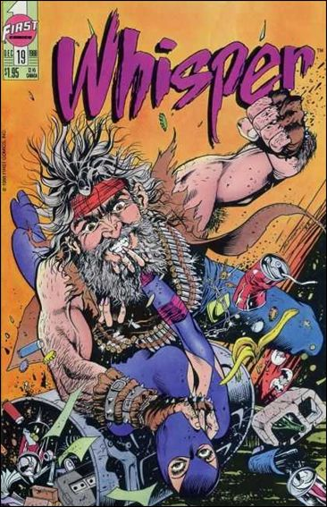 Whisper (1986) 19-A by First