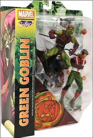 Marvel Select Green Goblin w/Spider-Man