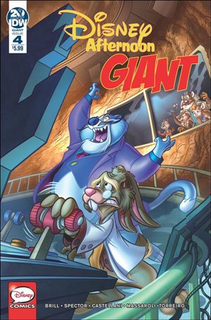 Disney Afternoon Giant 4-A