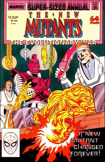 New Mutants Annual 4-A by Marvel