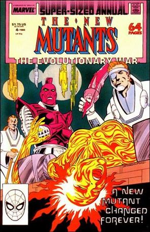 New Mutants Annual 4-A