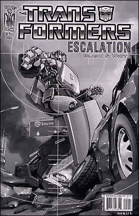 Transformers: Escalation 1-C by IDW