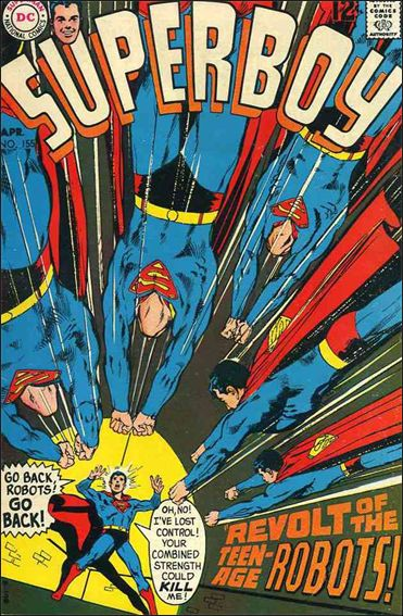 Superboy (1949) 155-A by DC