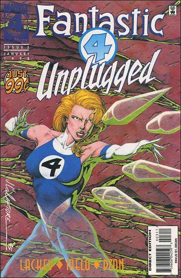 Fantastic Four Unplugged 3-A by Marvel