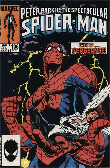 Spectacular Spider-Man (1976) 106-A by Marvel