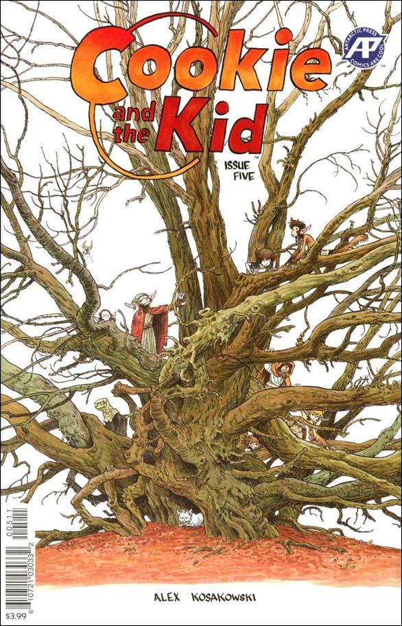 Cookie and the Kid (2019) 5-A by Antarctic Press
