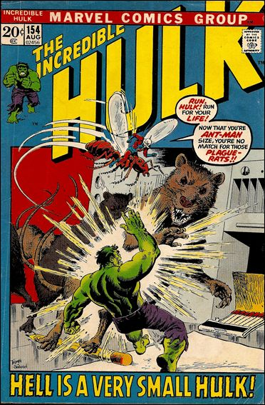 Incredible Hulk (1968) 154-A by Marvel