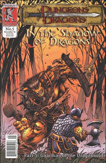 Dungeons and Dragons: In the Shadow of Dragons 5-A by Kenzer and Company