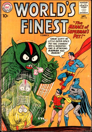 World's Finest Comics 112-A by DC