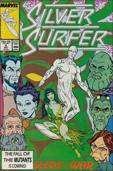 Silver Surfer (1987) 6-A by Marvel