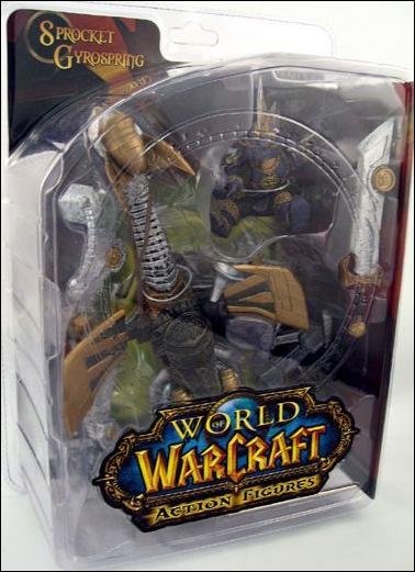 World of Warcraft (Series 2) Sprocket Gyrospring (Gnome Warrior) by DC Direct