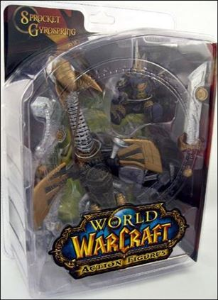 World of Warcraft (Series 2) Sprocket Gyrospring (Gnome Warrior)