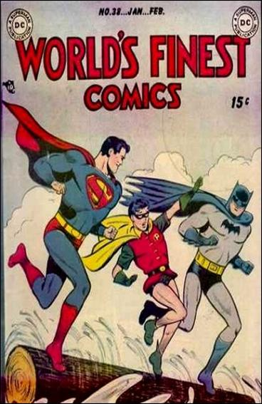 World's Finest Comics 38-A by DC