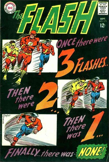 Flash (1959) 173-A by DC