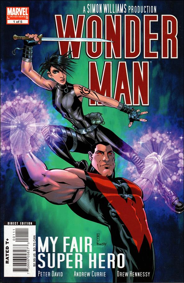 Wonder Man (2007) 1-A by Marvel