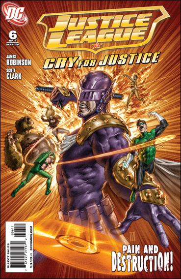 Justice League: Cry for Justice 6-A by DC