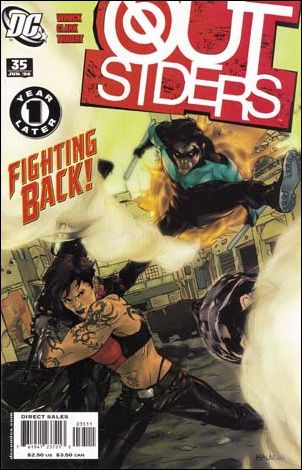 Outsiders (2003) 35-A by DC