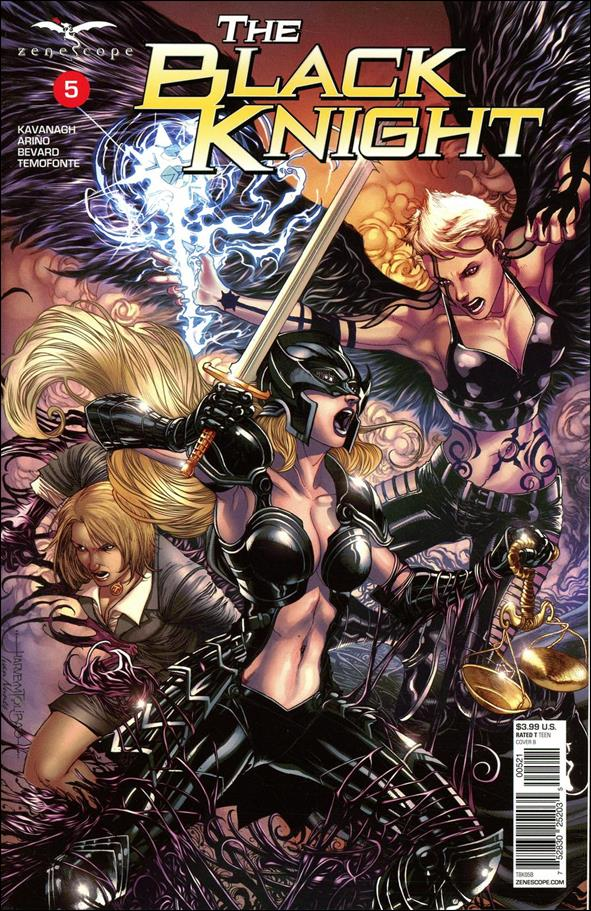 Black Knight (2018) 5-B by Zenescope Entertainment