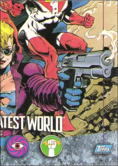 Comics' Greatest World (Base Set) 83-A by Topps