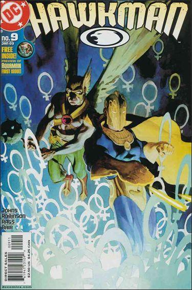 Hawkman (2002) 9-A by DC