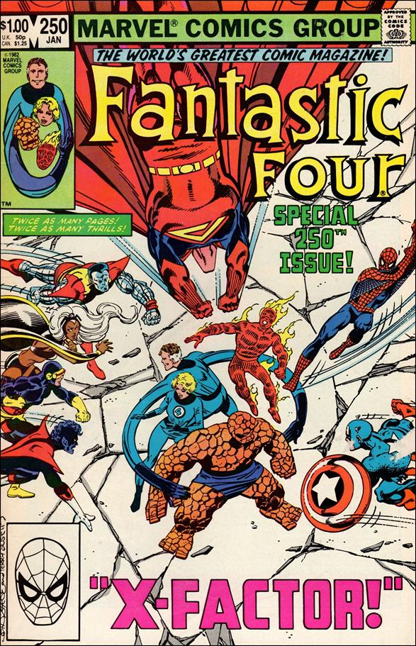 Fantastic Four (1961) 250-A by Marvel