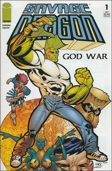 Savage Dragon: God War 1-A by Image