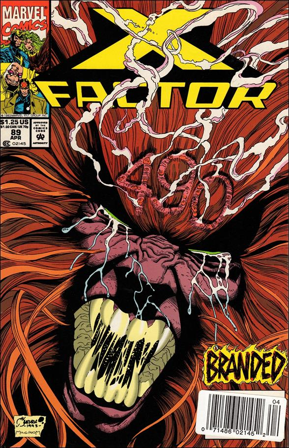 X-Factor (1986) 89-A by Marvel