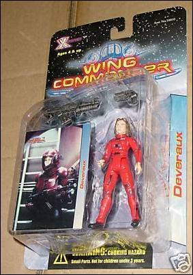 Wing Commander Devereaux by X-Toys